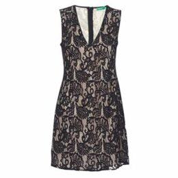 Benetton  BOULODERI  women's Dress in Black