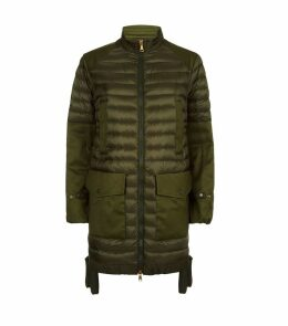 Cyanite Military Padded Parka Jacket