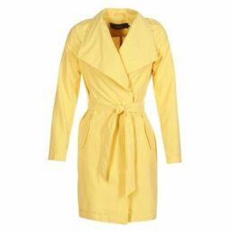 Vero Moda  VMELINAS  women's Trench Coat in Yellow