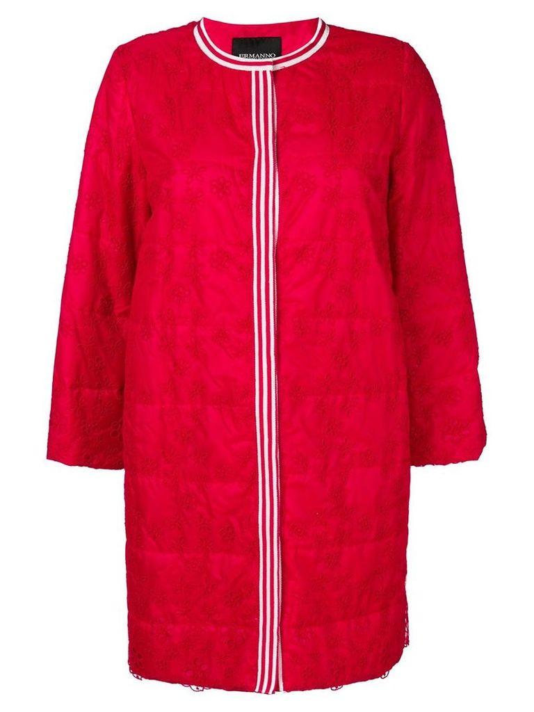 Ermanno Ermanno embroidered coat