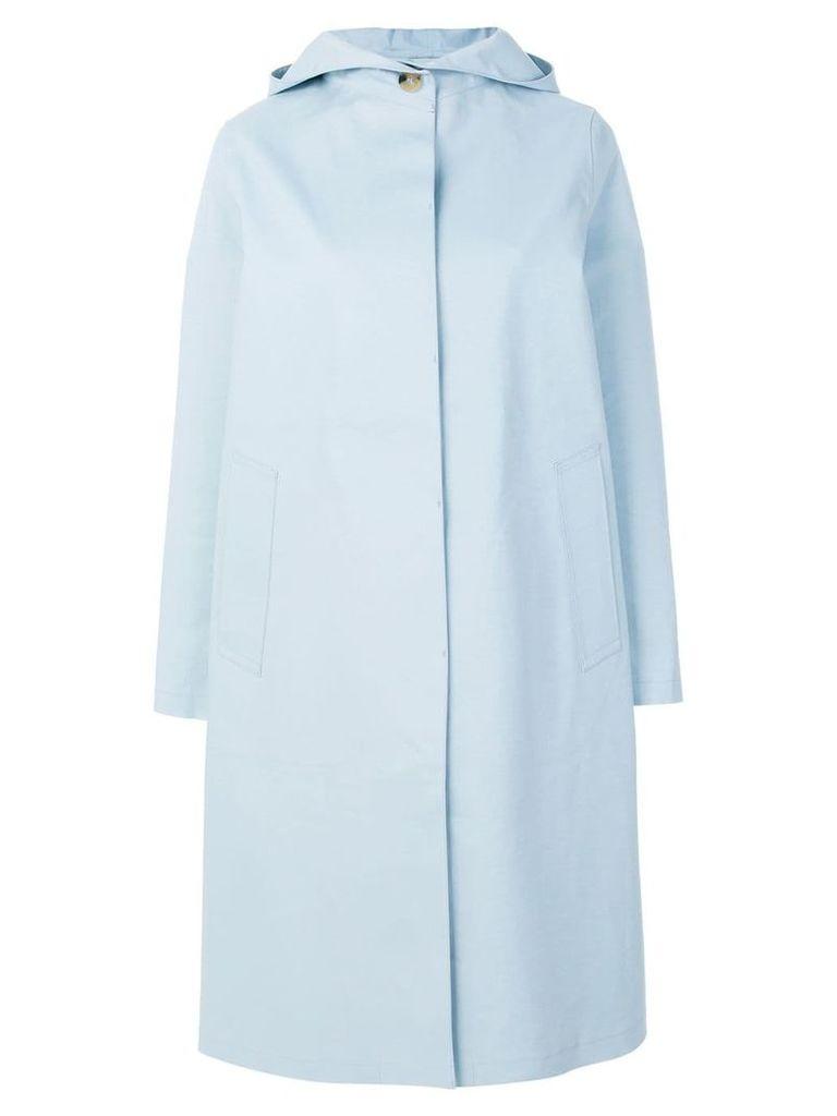 Mackintosh hooded raincoat - Blue