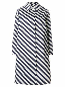 Mackintosh striped raincoat - Blue