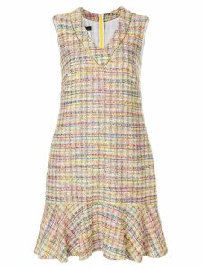 Talbot Runhof Pody1 tweed dress - Multicolour