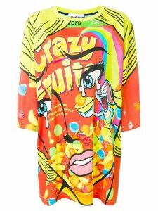 Moschino Crazy Fruit T-shirt dress - Multicolour