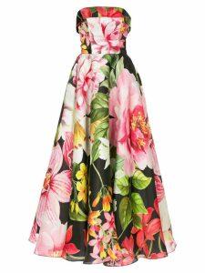 Bambah Lotus Cinderella gown - Black