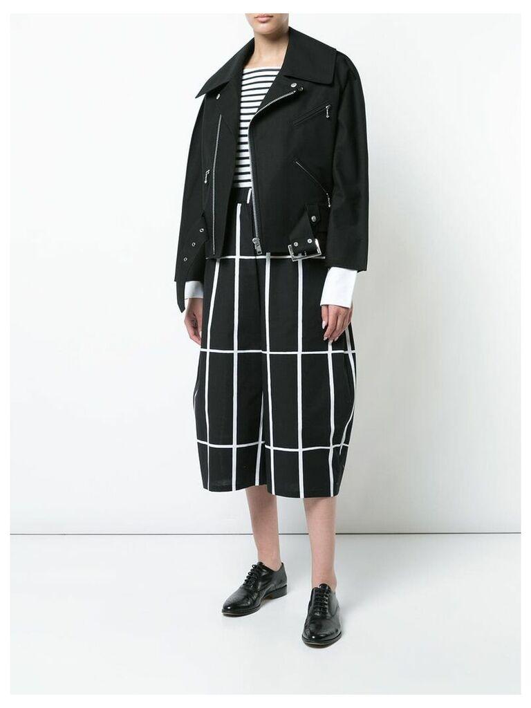 Junya Watanabe oversized biker jacket - Black