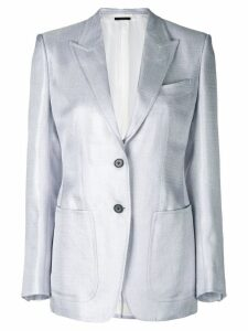 Tom Ford classic fitted blazer - Grey