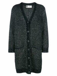 Lanvin mid-length cardigan - Black