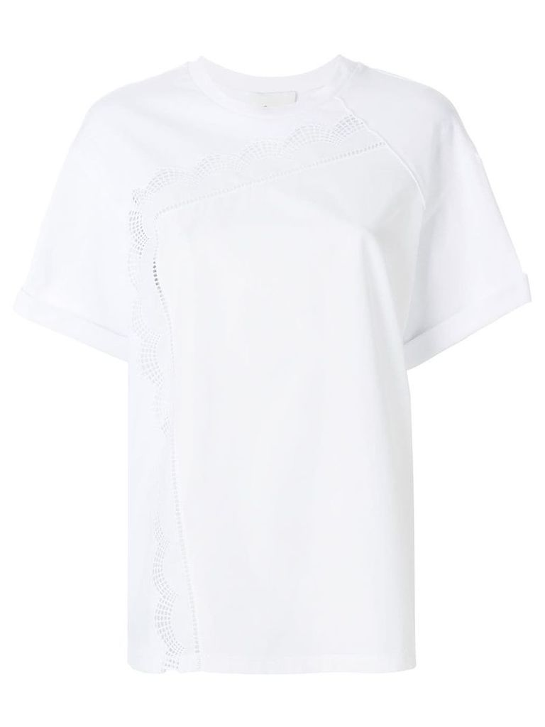 3.1 Phillip Lim Embroidered T-shirt - White