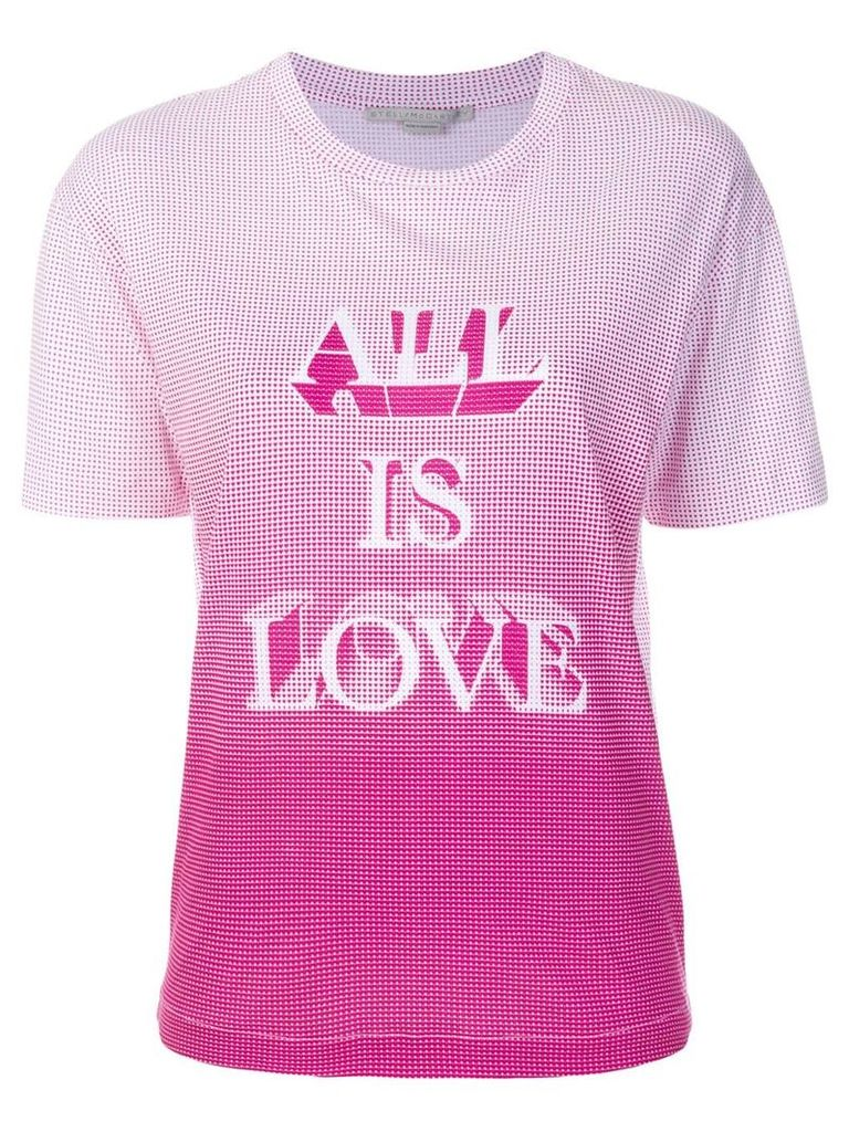 Stella McCartney All Is Love printed T-shirt - White