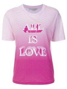 Stella McCartney All Is Love printed T-shirt - White