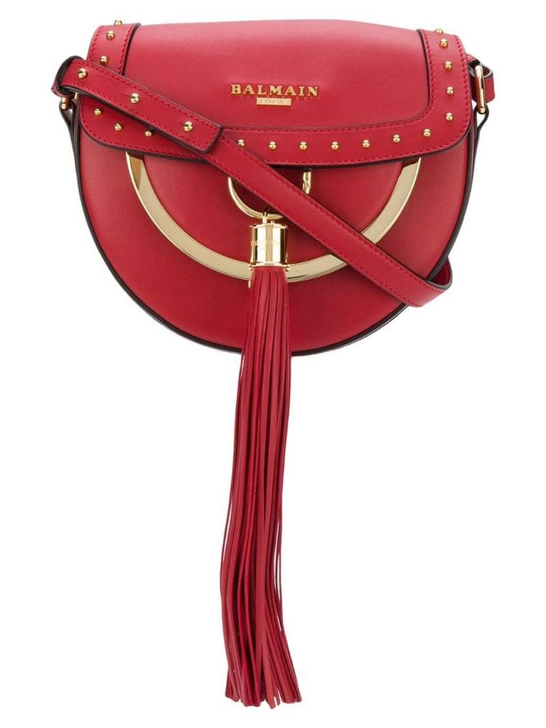 Balmain Domaine flap bag - Red