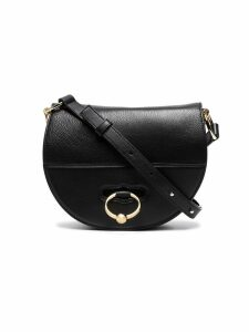 JW Anderson Black Latch Leather Cross Body Bag
