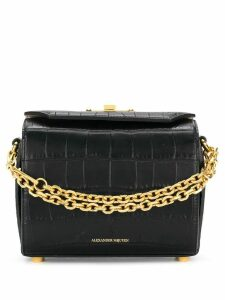 Alexander McQueen Box shoulder bag - Black