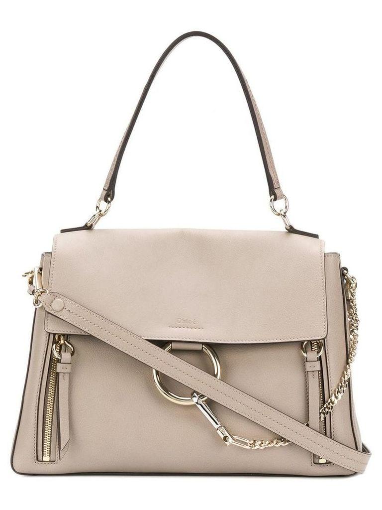 Chloé medium Faye day bag - Grey