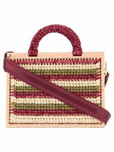 0711 Madame Lefranc XL shoulder bag - Multicolour