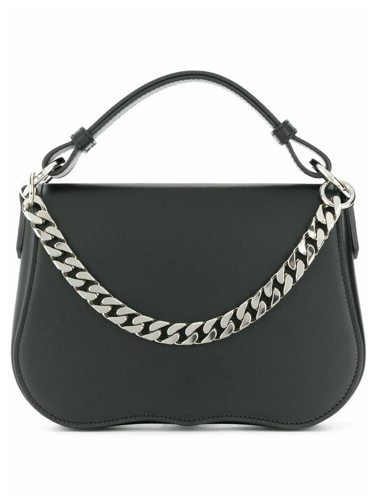 Calvin Klein 205W39nyc chain detail shoulder strap - Black