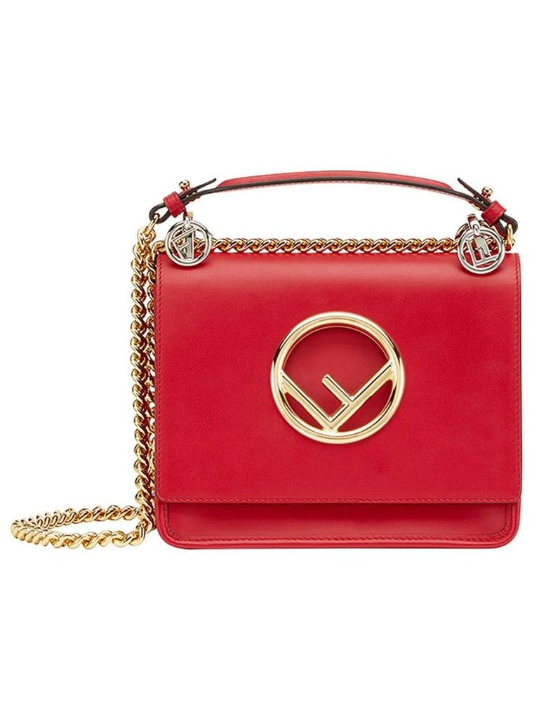 Fendi Kan I F small shoulder bag - Red