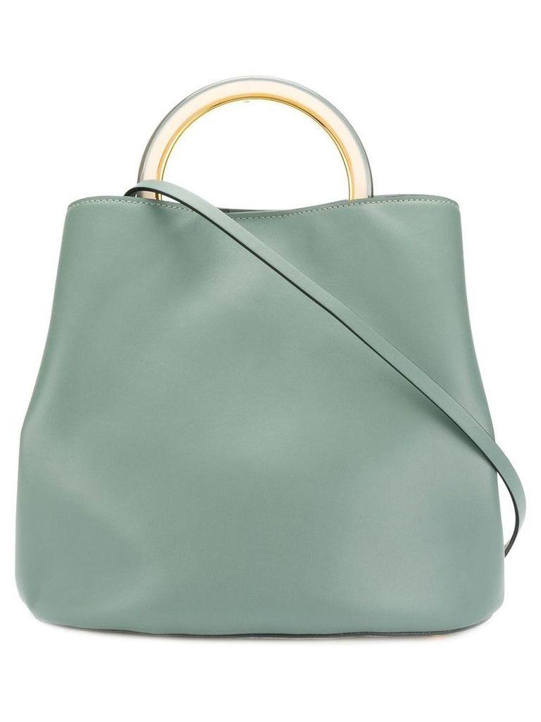 Marni round top handle tote bag - Neutrals