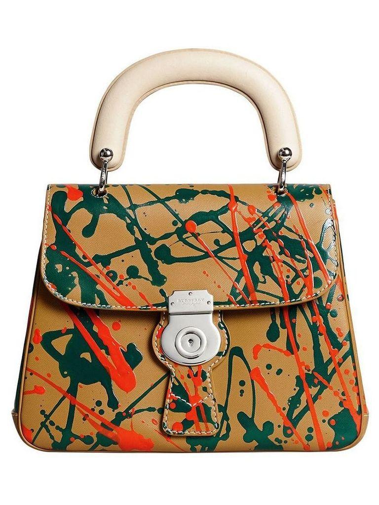 Burberry DK88 top handle bag - Brown