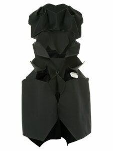 Junya Watanabe Comme des Garçons Pre-Owned geometric cut-detail dress