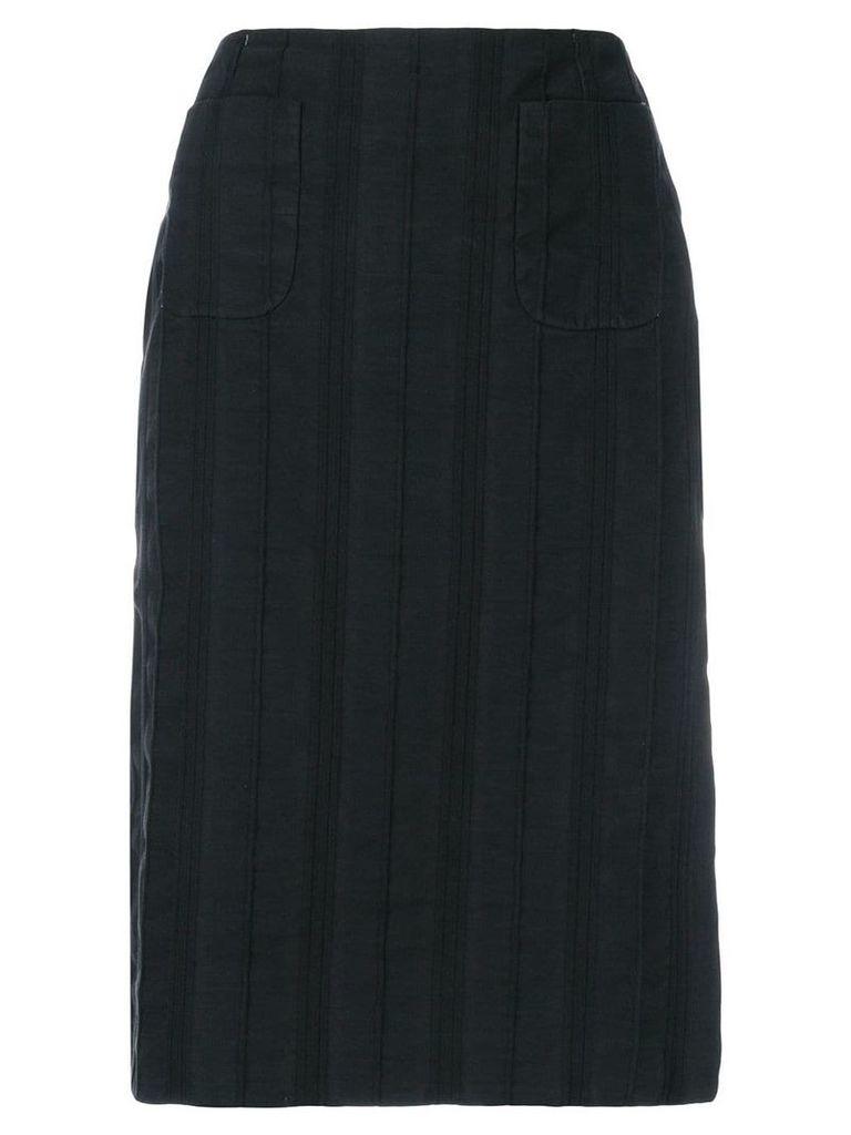 Salvatore Ferragamo Pre-Owned pencil skirt - Black