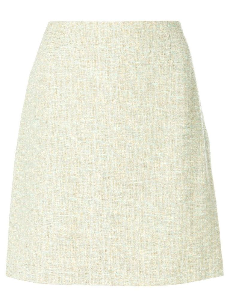 Moschino Pre-Owned a-line skirt - Neutrals