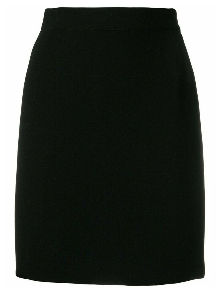 Dolce & Gabbana Vintage fitted skirt - Black