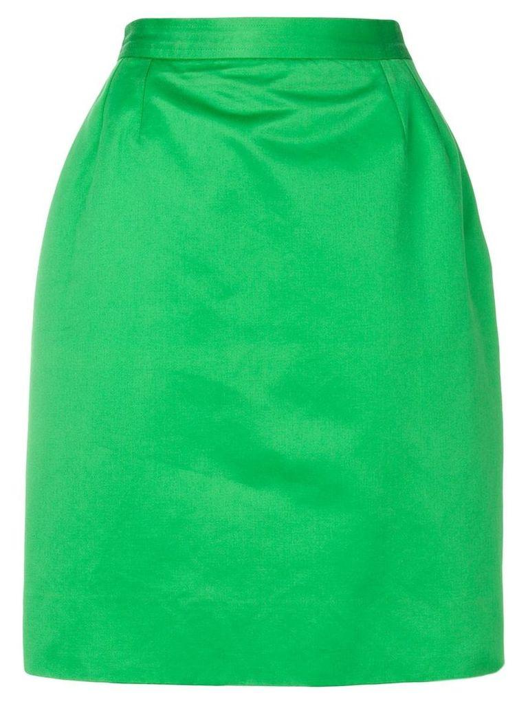 Yves Saint Laurent Vintage high-waisted pencil skirt - Green