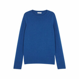 THE ROW Sibel Blue Wool-blend Jumper