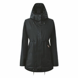 Hunter Womens Original Vinyl Smock Black
