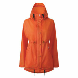 Hunter Womens Original Vinyl Smock Orange