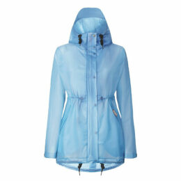 Hunter Womens Original Vinyl Smock Blue