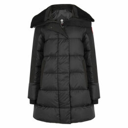 Canada Goose Altona Shearling-trimmed Shell Coat