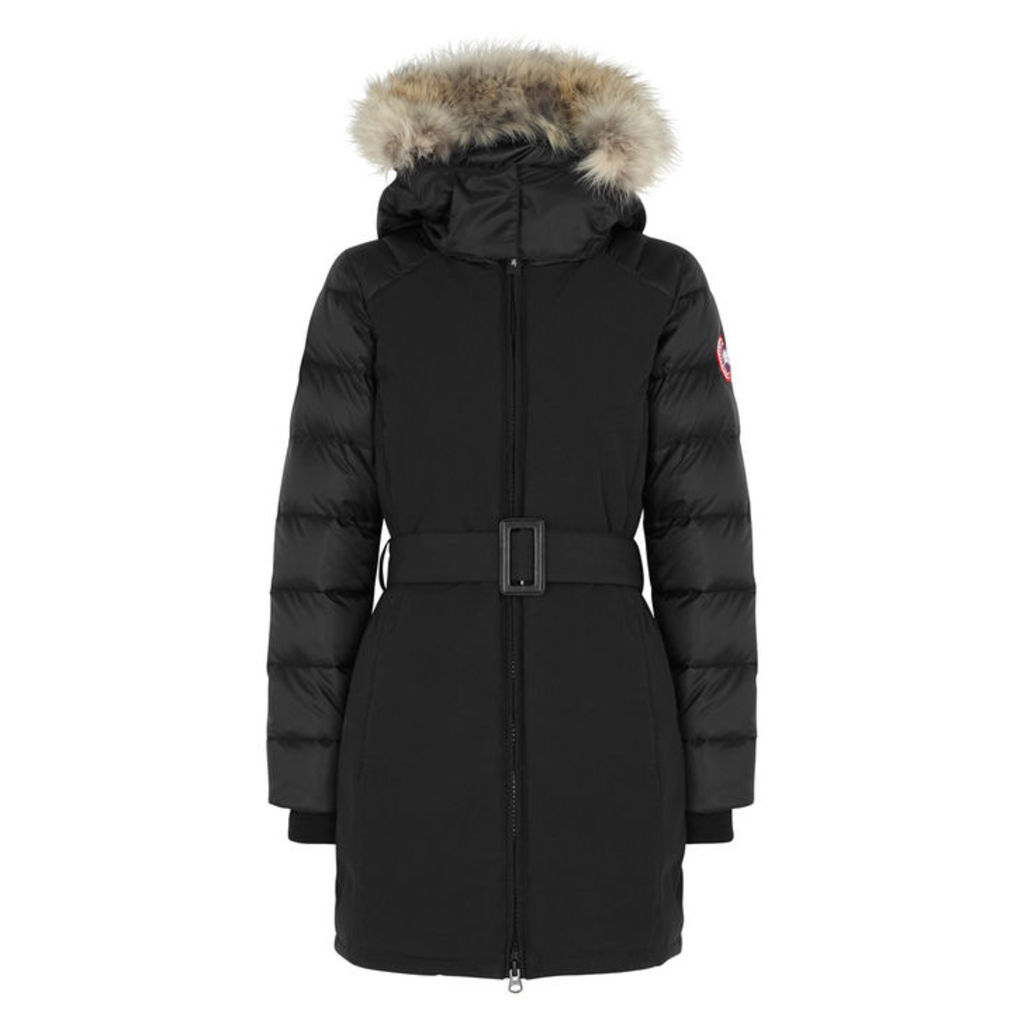 Canada Goose Rowan Quilted Nylon And Shell Parka