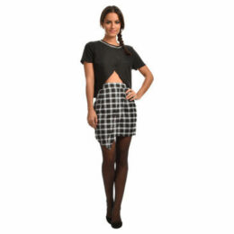 Madam Rage  Skirt  women's Skirt in Black