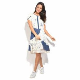 S Quise  Dress  women's Dress in White