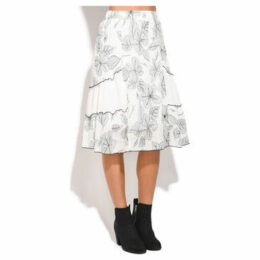 S Quise  Skirt  women's Skirt in White