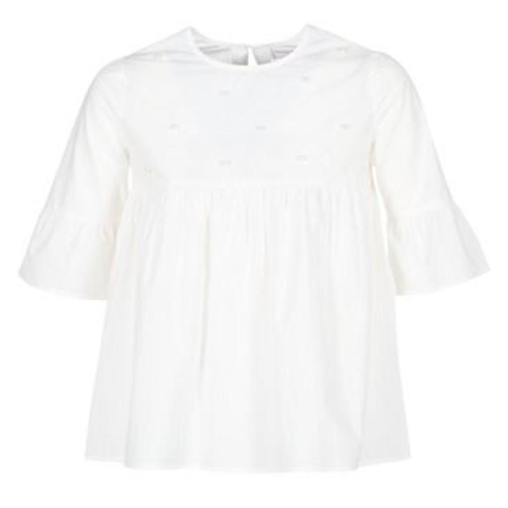 Moony Mood  IFATOUM  women's Blouse in White