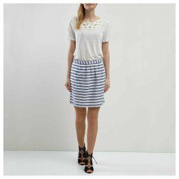 Short Striped Skirt