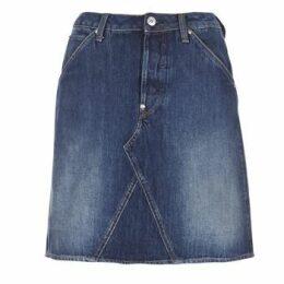 G-Star Raw  5622 CUSTOM A-LINE SKIRT  women's Skirt in Blue