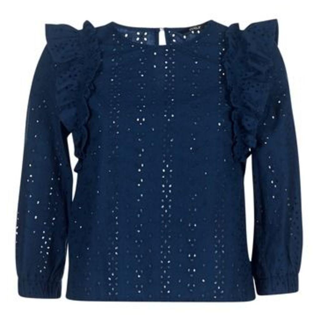 Only  LARISSA  women's Blouse in Blue