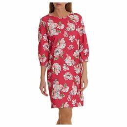 Betty & Co. Floral Print Dress, Dark Pink