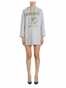 Moschino Hooded Sweatshirt Dress