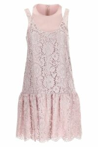 Valentino Lurex Heavy Lace Dress