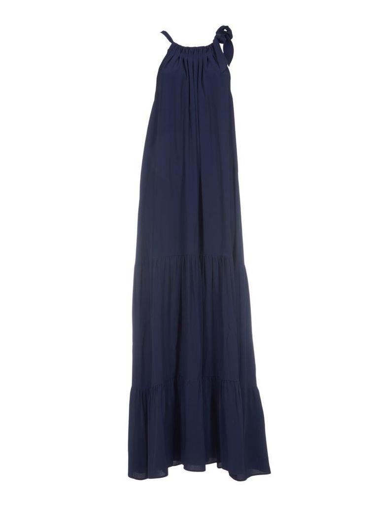 Erika Cavallini Halter-neck Gathered Dress