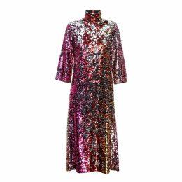 JIRI KALFAR - Reversible Sequins Dress