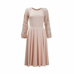 Emelita - Lace Sleeves Dress