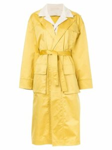 Nehera Cay garbadine coat - Yellow
