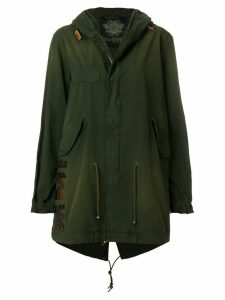 Mr & Mrs Italy slim fit midi parka - Green